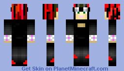 Cyberpunk Girl Minecraft Skin