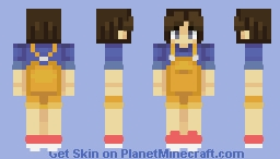 anna - shout out to wabbawabba! Minecraft Skin