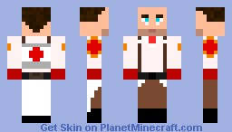 Medic from TF2 (better in 3D) Minecraft Skin