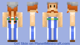 Obelix Minecraft Skin