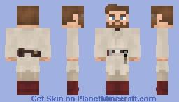 Obi-Wan Kenobi (Star Wars: EPISODE III) (1.8) Minecraft Skin