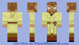 Obi-Wan Kenobi [Star Wars: Revenge of the Sith] (No Cloak) Minecraft Skin