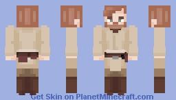 The legendary negotiator ~ Obi Wan Kenobi 🌟 Minecraft Skin