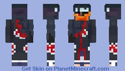 Obito Uchiha (Broken Mask) Minecraft Skin