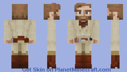 Obi-Wan Kenobi (Revenge of the Sith) Minecraft Skin