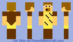 obi  wan kenobi Minecraft Skin