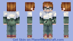 Martin Blackwood (In That One Cow Sweater) - The Magnus Archives - PoplarSt☕ Minecraft Skin