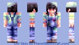 La artista carina 🎨 (OC & CE) Minecraft Skin