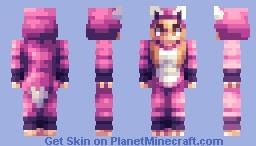 Lovely Fox - a gift for my best friend Minecraft Skin