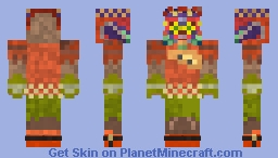[Ocarina of Time Hyrule Warrior] Skin Zelda contest 12/07 Minecraft Skin