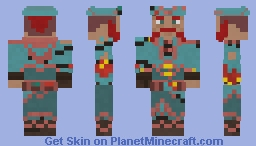 Sea of Thieves- Ocean Crawler Minecraft Skin