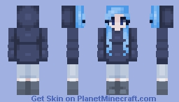 Ocean Blue Minecraft Skin