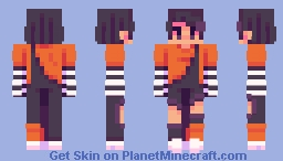 Ocean of Glitter + Feminine version Minecraft Skin