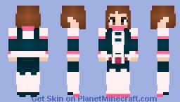 Ochaco Uraraka (My Hero Academia) Alts. Included! Minecraft Skin