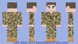 [Multicam/OCP] Off Duty Uniform Minecraft Skin