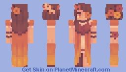 snow white? more like autumn orange [GIFT] Minecraft Skin