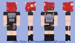 Octoling Rendezvous Minecraft Skin