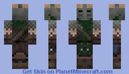The Reach Gaurd skyrim Minecraft Skin