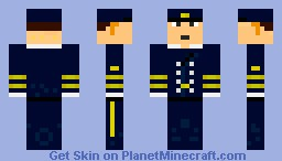Officer Kaiserliche Marine Minecraft Skin
