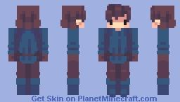 Deleted Mob: Steve // + speedpaint video Minecraft Skin