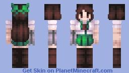 number one birdbrain! - okuu / utsuho reiuji, touhou Minecraft Skin