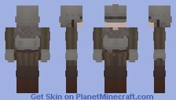 Sad Knight Guy Minecraft Skin