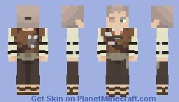 Callahan Chalk - Old Man Callahan Minecraft Skin