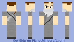 Wise old man with some fight left! Minecraft Skin