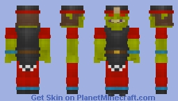 Gretchin (2nd Edition Goffs) Minecraft Skin