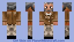 Ol' Grisly Skin (RP) Minecraft