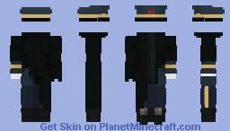 [Outfit] Omen Deng - Alpha Protocol Minecraft Skin