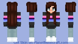 Omni Girl Skin Minecraft Skin