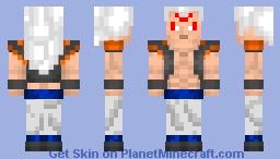 Minecraft Omni Gogeta Anime war 13 Minecraft Skin