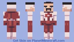 omniman but Minecraft Skin