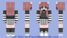 one little kiss can turn into a thousand Minecraft Skin