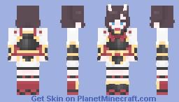 Oni Warrior Minecraft Skin