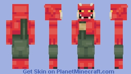 Oni | Skintober Minecraft Skin