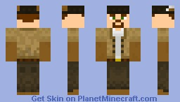 the man Minecraft Skin