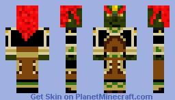 Ganondorf Minecraft Skin