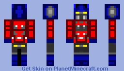 Optimus Prime (Transformers) Minecraft Skin