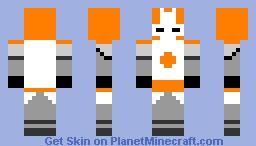 Skin Details Castle Crashers Orange Knight Minecraft Skin