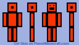 Orange guy Minecraft Skin