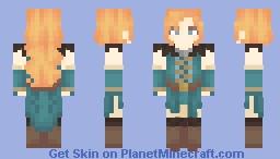 Disney and Dragons - Merida Minecraft Skin