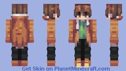 Orange You Glad Minecraft Skin
