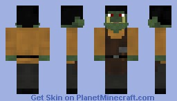 Urag the orcish Blacksmith Minecraft Skin