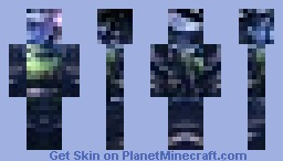 random photo made into a fail minecraft skin no.04