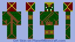 ork warior Minecraft Skin