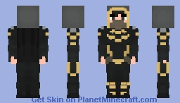 Orphan - Cassandra Cain - Batgirl - Future State Minecraft Skin