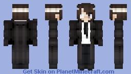 『Splitteando』- Osamu Dazai - Port mafia - Classic - Bungou Stray Dogs Minecraft Skin