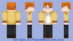Otonashi Yuzuru (Angel Beats) Minecraft Skin